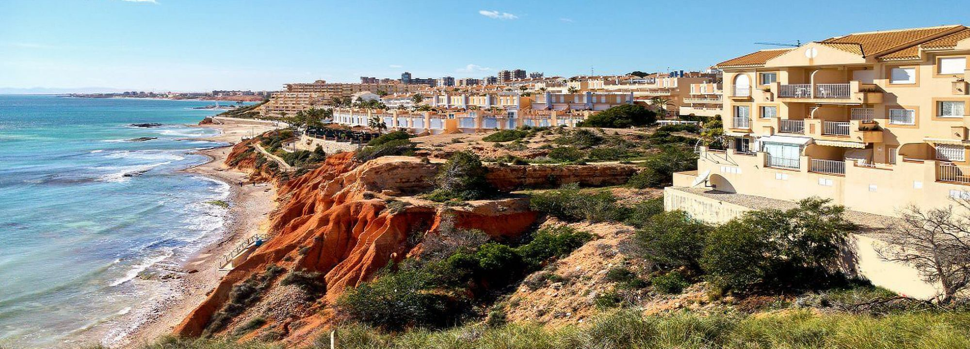 Immobilien in erster Linie in Orihuela Costa